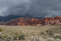 The Red Rock Canyon on a cloudy April day, Andrew P - April 2009