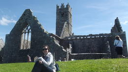 having a gentle rest at the Friary , Chad B - June 2014