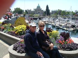 Overlooking the harbor, with the government building in the background., Clayton W - July 2009