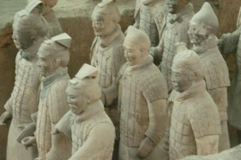 Terra cotta warriors - Xian