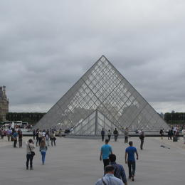 A picture of The Louvre Museum , Noel C - September 2014