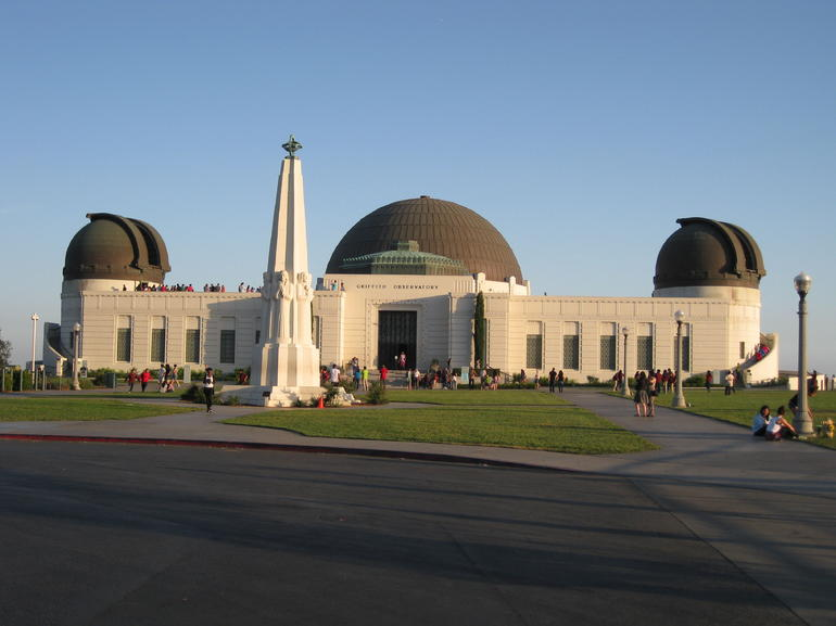 The Observatory at dusk - Los Angeles