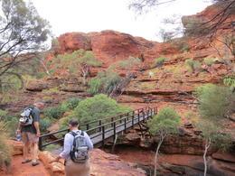 Descending onto the canyon floor , acady6 - October 2016