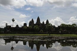 Angkor Wat reflection pool. , Kay T - September 2013