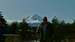 Me standing before the great Mt Fuji , toddy - February 2014