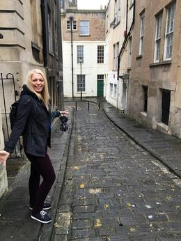 Exploring the historic city of Bath , Kristen G - August 2016