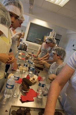 Making chocolate, Sherry Ott - September 2012