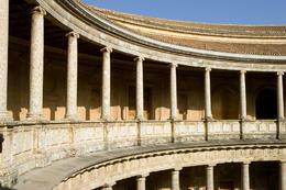 Carlos V Palace. The Alhambra, Granada - July 2011