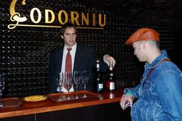 Photo of cava tasting with our cava expert at Codorniu., Elizabeth D - February 2009