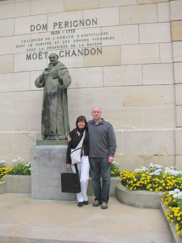 Dom Pergnon at Moet & Chandon - Paris