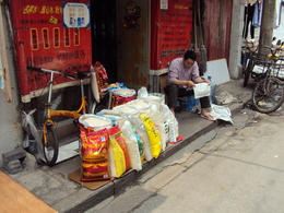 Local streetside stalls - May 2012