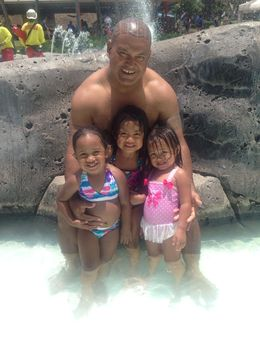 Me and the kids in the water, jcocker - July 2015
