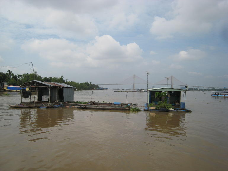 Fish Farm on the Mekong River - Ho Chi Minh City