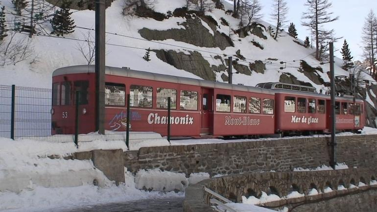 Glacier train - Geneva