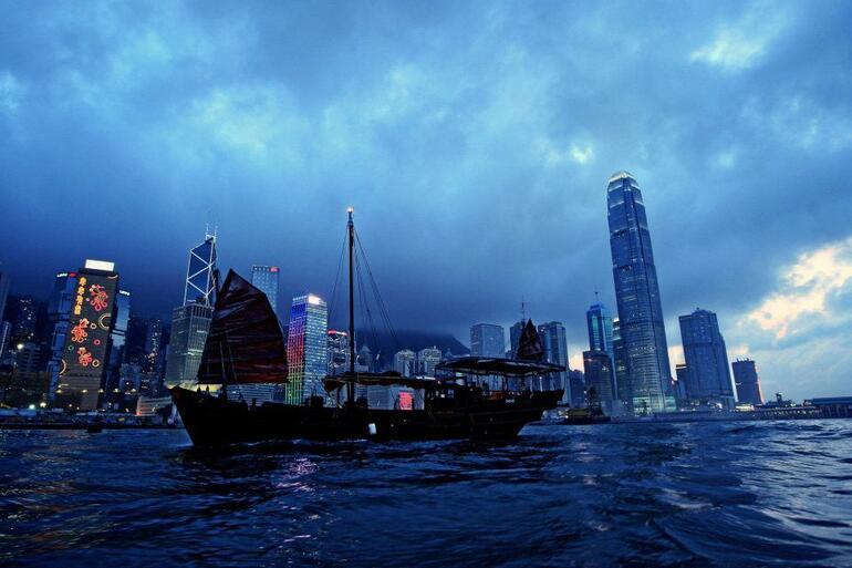 Hong Kong Junk Boat Cruise - Hong Kong
