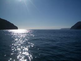 Sun on lake - August 2011