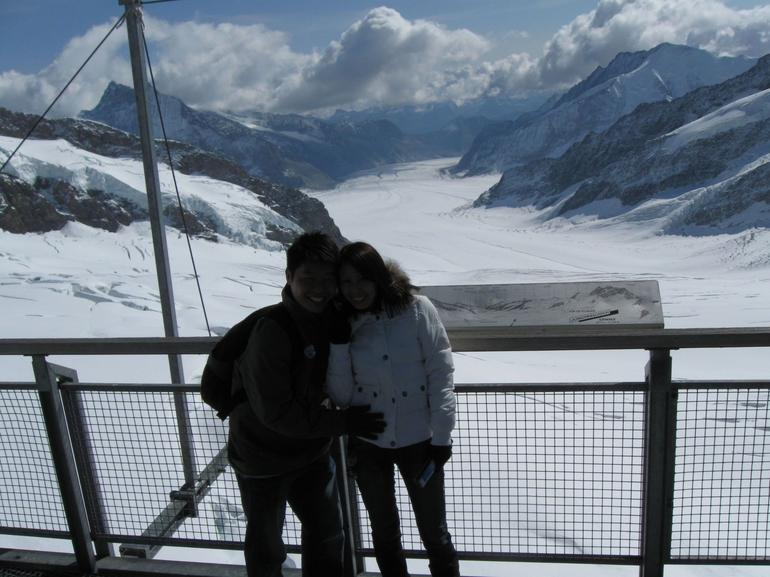 Just arrive at Top of Europe! - Lucerne