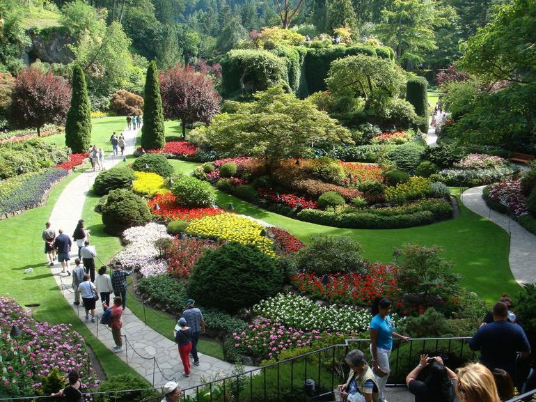 Limestone quarry - Butchart Gardens - Vancouver