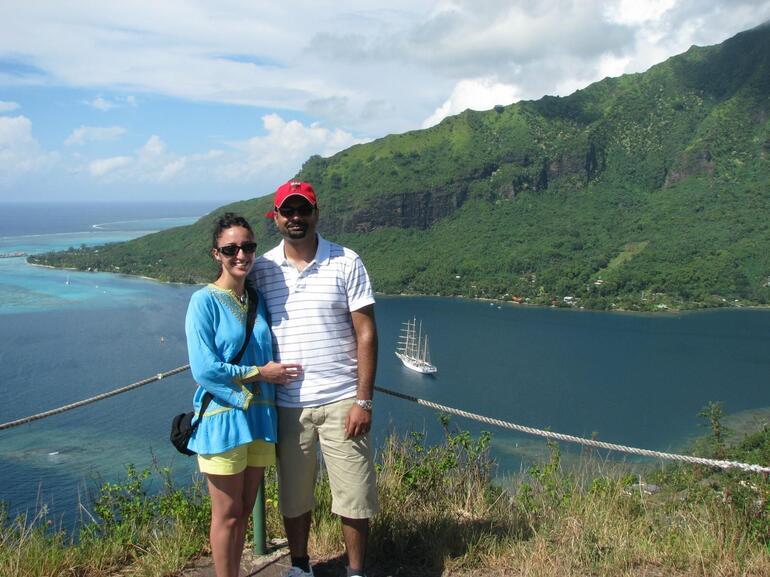 Our Safari at Magic Mountain - Tahiti