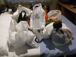 These are the bags of shopping from our shopping tour. My daughter, sister and myself had an amazing day. , Wendy - April 2015