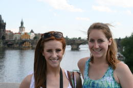 These two girls from the US were on the bike tour with them. Please pass this photo on to them if you know them as I forgot to get their email address! (this will test how connected in the internet..., Daz - July 2012