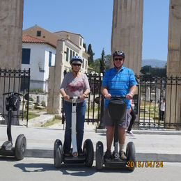 We had a ball traveling around Athens on a Segway. It was our first time and we would do it again. , Thomas M - May 2016