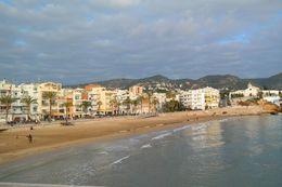 Sitges San Sebastia Beach , Kang Eun H - January 2016