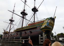 The Amsterdam a replica of the original Man o War Dutch vessel , GERARD P - September 2016