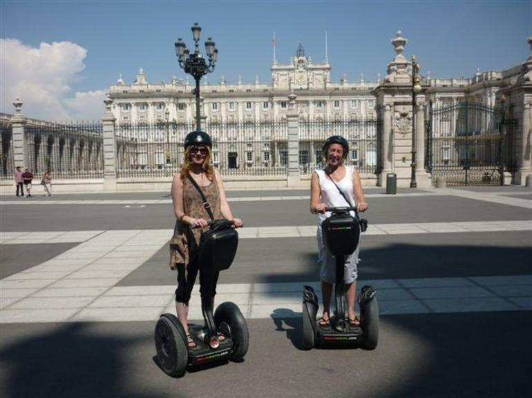 The Royal Palace via Segway - Madrid