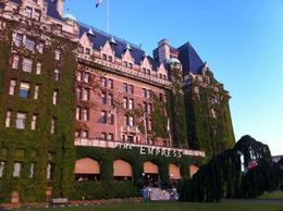 At Sunset, the Empress Hotel , John C - August 2011