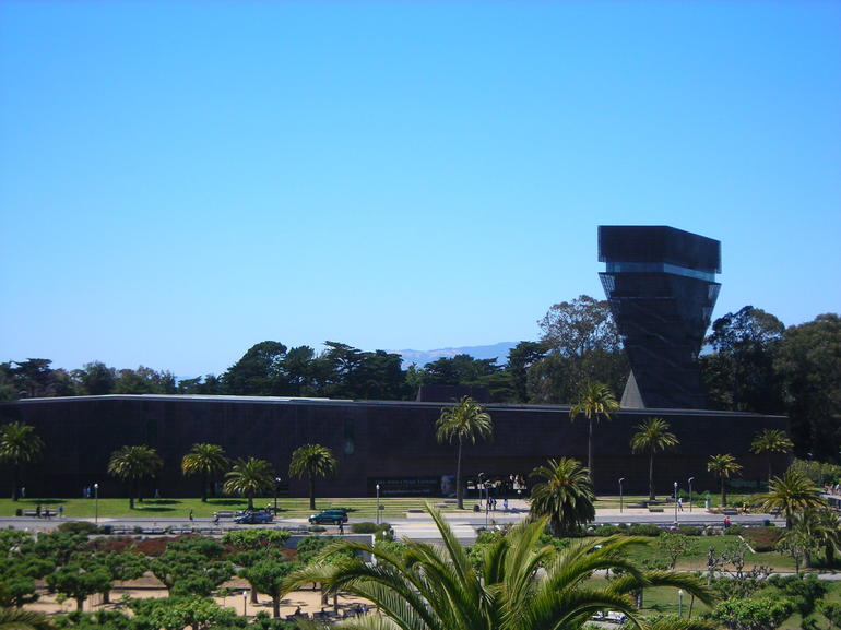 View from the Rooftop of de Young Museum.JPG - San Francisco