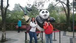Lily and I at the Panda Breeding Center , MARIA C - December 2016
