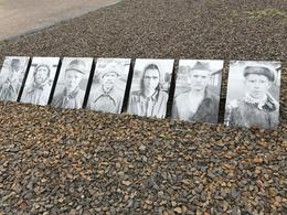 Photos of some of the Russian PoWs that were executed , Antonio P - October 2017