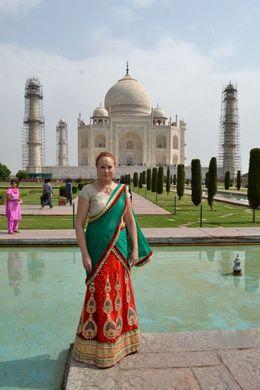 A perfect morning at the Taj Mahal.... , Lowell J K - June 2016