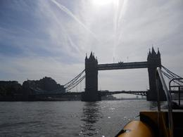 Tower Bridge silhouetted against the sky., Timetable Tim - June 2010