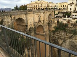 Over looking the bridge and Gorge in Ronda. , Frank R - November 2015