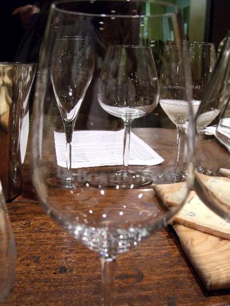 DeBortoli Tasting - Preset Table - Melbourne