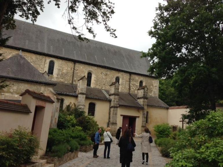 Dom Perignon's resting place - Champagne