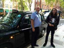 Gerry the guide with Alex at the end of a wonderful tour , Patsy M - September 2014