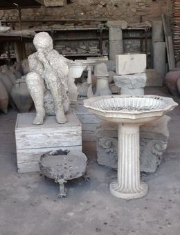 Pompeii relics , Janet - August 2012