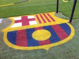 FC Barcelona, Ryan & Asha - September 2012