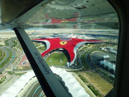 A view of Ferrari world from aboard the seaplane , Clay S - March 2014