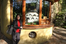 Joyce and Totoro in the Ghibli Studio Museum , Carl B - May 2016