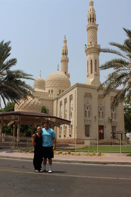 Largest Mosque in Dubai. Very beautiful area. Were able to see many personal homes but were mostly behind big walls and beautiful gates. , Diane S - October 2016