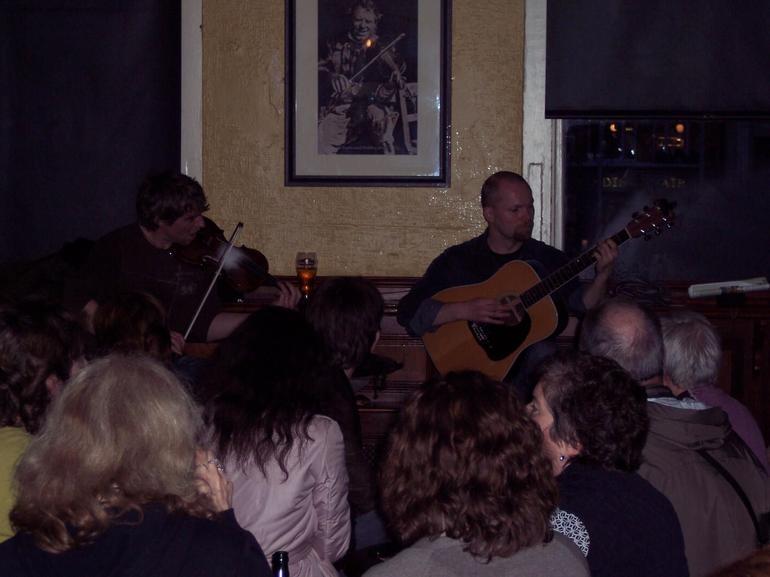 Musicians performing - Dublin
