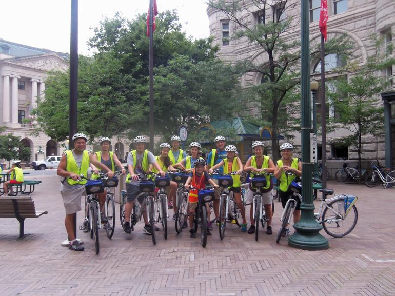 Our bike tour - Washington DC