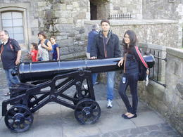 Ready to Fire - at Stirling Castle , R K - September 2012