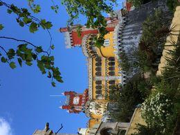 vue extérieur du palais de la Pena , CHRISTINE N - May 2016