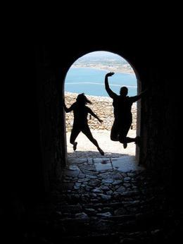 Having fun exploring the fortress! , clairemc - December 2010