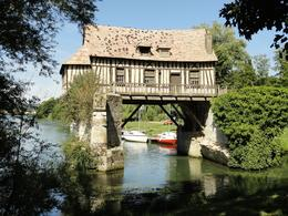Old tax house on the river Seine., John S - September 2010